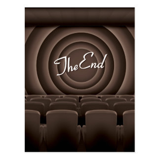 Vintage Movie Cinema Theatre Postcard
