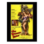 Vintage movie horror -