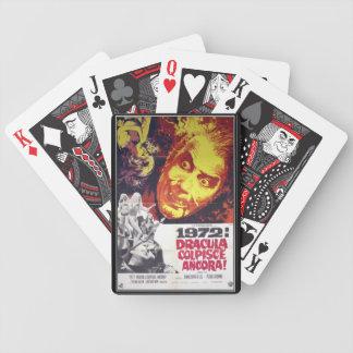 Vintage movie horror - bicycle poker deck