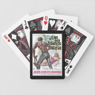 Vintage movie horror - card decks
