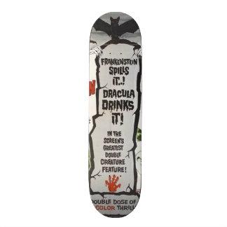 Vintage movie horror - custom skateboard