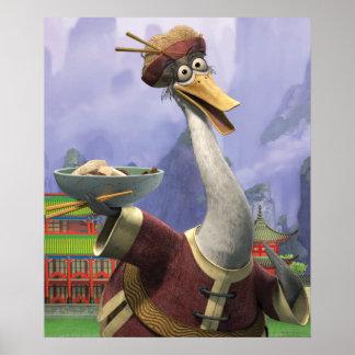 Vintage Mr. Ping Poster