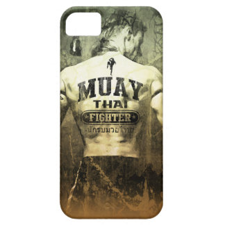 Vintage Muay Thai Fighter iPhone 5/5S Cover