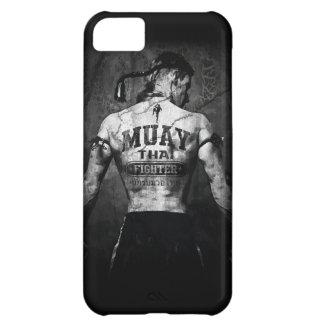 Vintage Muay Thai Fighter iPhone 5C Case