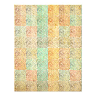 Vintage Multicolored  Square. Geometric Pattern Custom Flyer