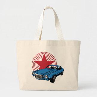 Vintage Muscle Car Tote Bags