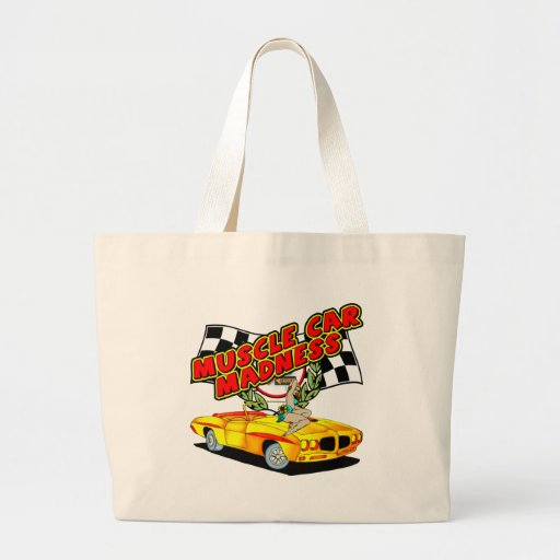 Vintage Muscle Car Madness Bags