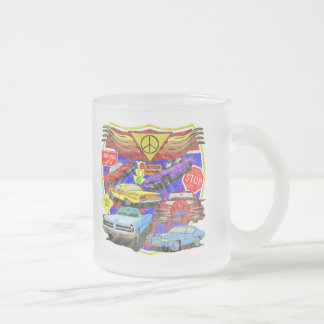 Vintage Muscle Cars Of Yesterday Coffee Mug