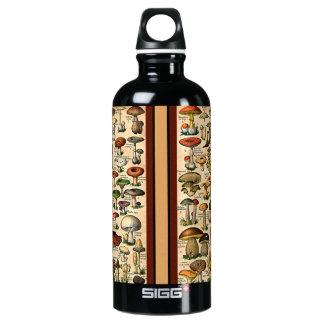 Vintage Mushroom Guide Liberty Bottle SIGG Traveller 0.6L Water Bottle