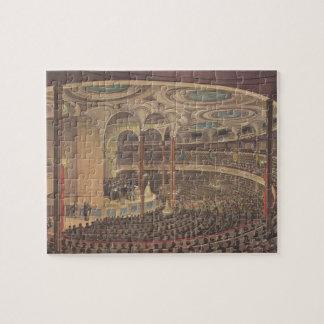 Vintage Music, Jenny Lind, Swedish Opera Singer Jigsaw Puzzle