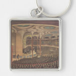 Vintage Music, Jenny Lind, Swedish Opera Singer Key Chain