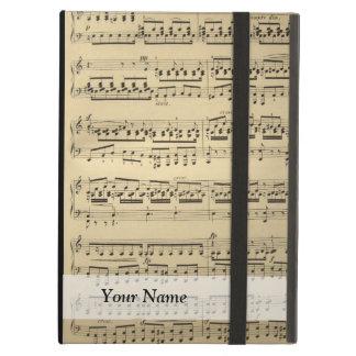 Vintage Music Sheet iPad Air Cases
