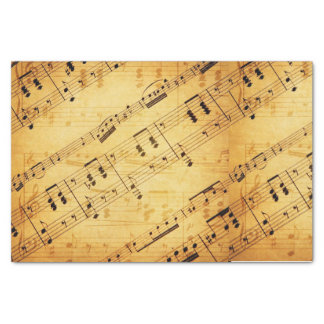 Vintage Music Sheet - Tissue Paper