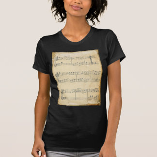 Vintage Music Sheet T Shirts