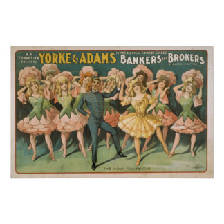 Vintage Musical Bankers And Brokers Posters