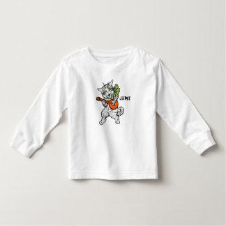 Vintage Musical Cat Art T-Shirt