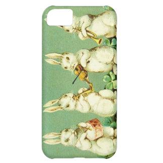 Vintage Musical Easter Bunnies iPhone 5C Case