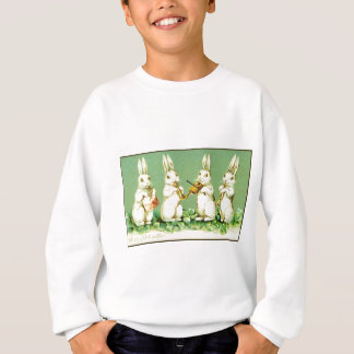 Vintage Musical Easter Bunnies Sweatshirt