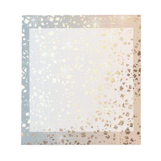 Vintage Muted 1920 Glam Gold Star Foil Sparkle