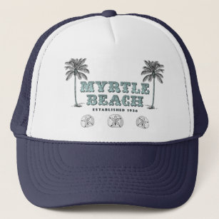 0ceb5532e8d98 Vintage Myrtle Beach South Carolina Est 1938 Trucker Hat
