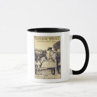 Vintage Naitonal Service Women's Land Army Recruit Mug