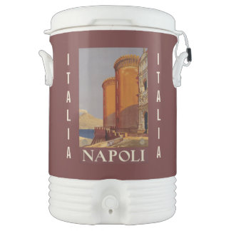 Vintage Napoli (Naples) custom beverage cooler