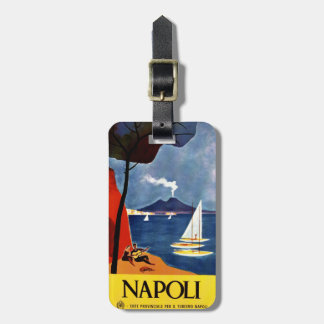 Vintage Napoli (Naples) custom luggage tag