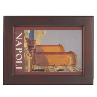 Vintage Napoli Naples Italy custom keepsake box