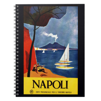 Vintage Napoli Naples Italy notebook