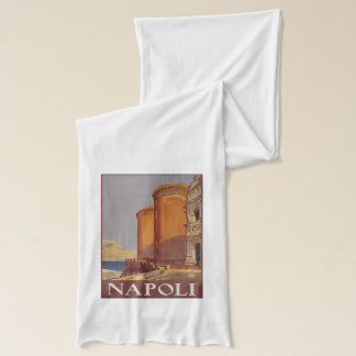 Vintage Napoli (Naples) Italy scarfs Scarf