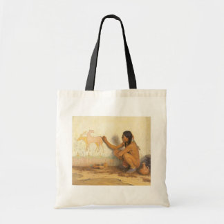 Vintage Native American, Indian Artist by Couse Tote Bag