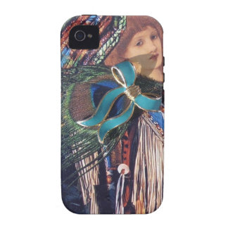 Vintage Native American Montage Case-Mate iPhone 4 Covers