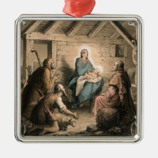 Vintage Nativity ornament