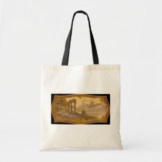 Vintage Natural Soap Ad Bag