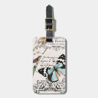 Vintage Nature's Beauty...luggage tag