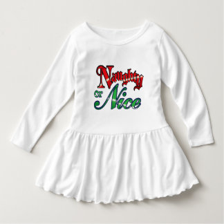Vintage Naughty or Nice Christmas Dress