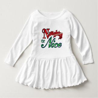 Vintage Naughty or Nice Christmas T-shirt