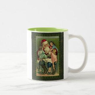 Vintage Naughty or Nice Mug
