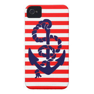 Vintage Nautical Anchor iPhone 4 Case-Mate Cases