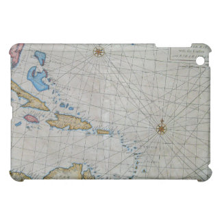 Vintage Nautical Chart Of The Caribbean Cover For The iPad Mini