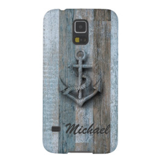 Vintage nautical classy anchor case for galaxy s5