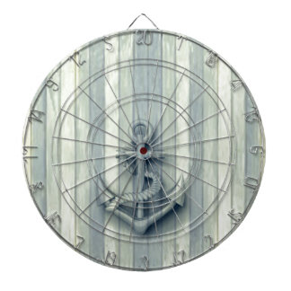 Vintage nautical classy anchor dartboard