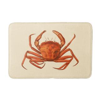Vintage Nautical Crab Bath Mat Home Bathroom Decor