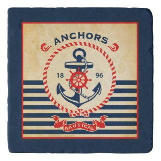 Vintage Nautical Poster Trivet