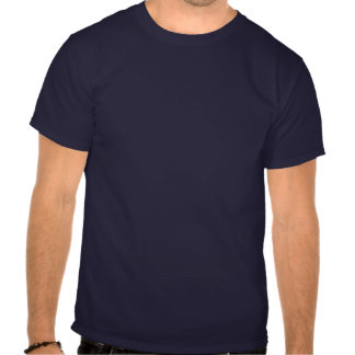 Vintage Navy Blue Fleur-de-lis T-shirt