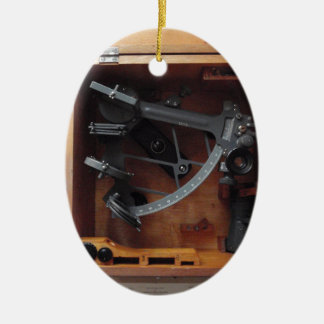 Vintage Navy Sextant Christmas Ornament