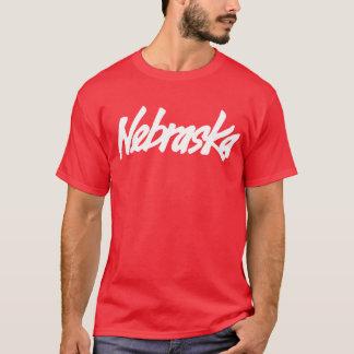 Vintage Nebraska Logo Tee