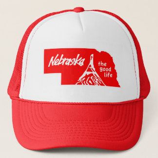 "Vintage Nebraska ""the good life"" Hat"