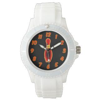 Vintage Neon Bowling Pin Watch