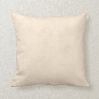 Vintage Neutral Parchment Beige Antique Paper Temp Cushion